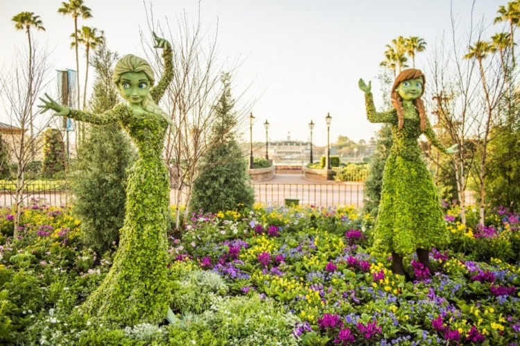 Frozen Epcot Flower and Garden Festival