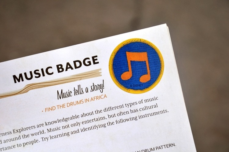 music-badge