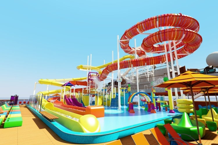 carnival vista waterslide