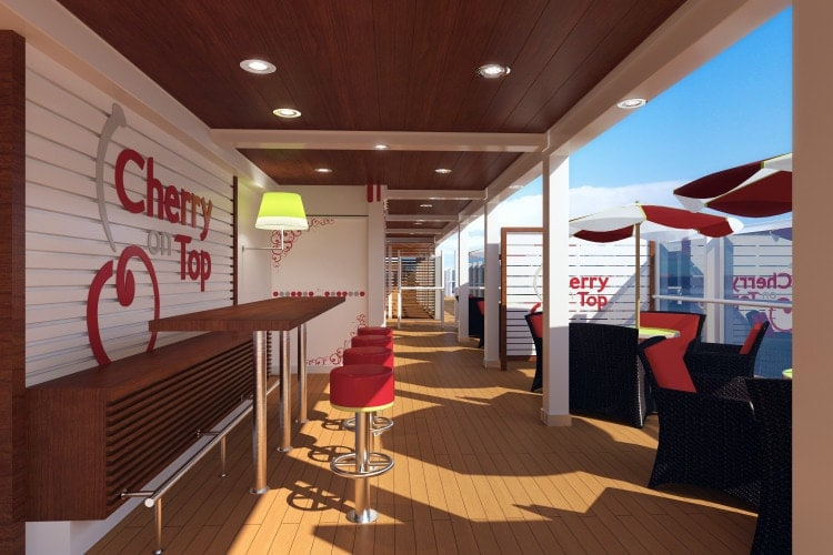 carnival vista cherry on top