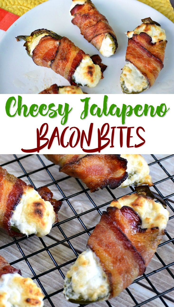 Cheesy Jalapeno Bacon Bites Recipe