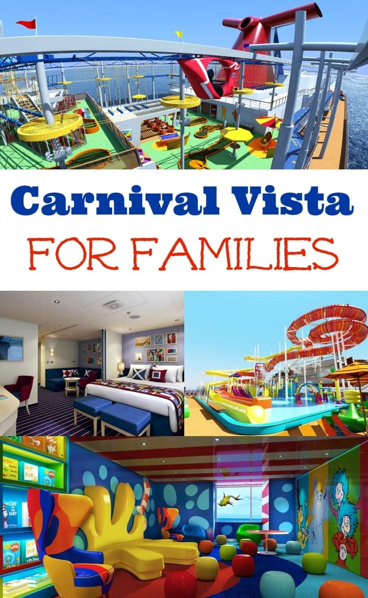 Carnival Vista For Families
