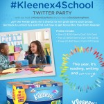 Back to School with Kleenex + Twitter Party Info