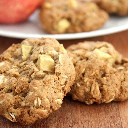 cinnamon apple oatmeal cookies recipe