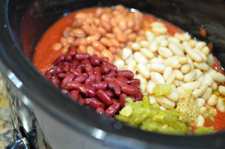 ... at: www.cansgetyoucooking.com/recipes/vegetarian_three_bean_chili.html