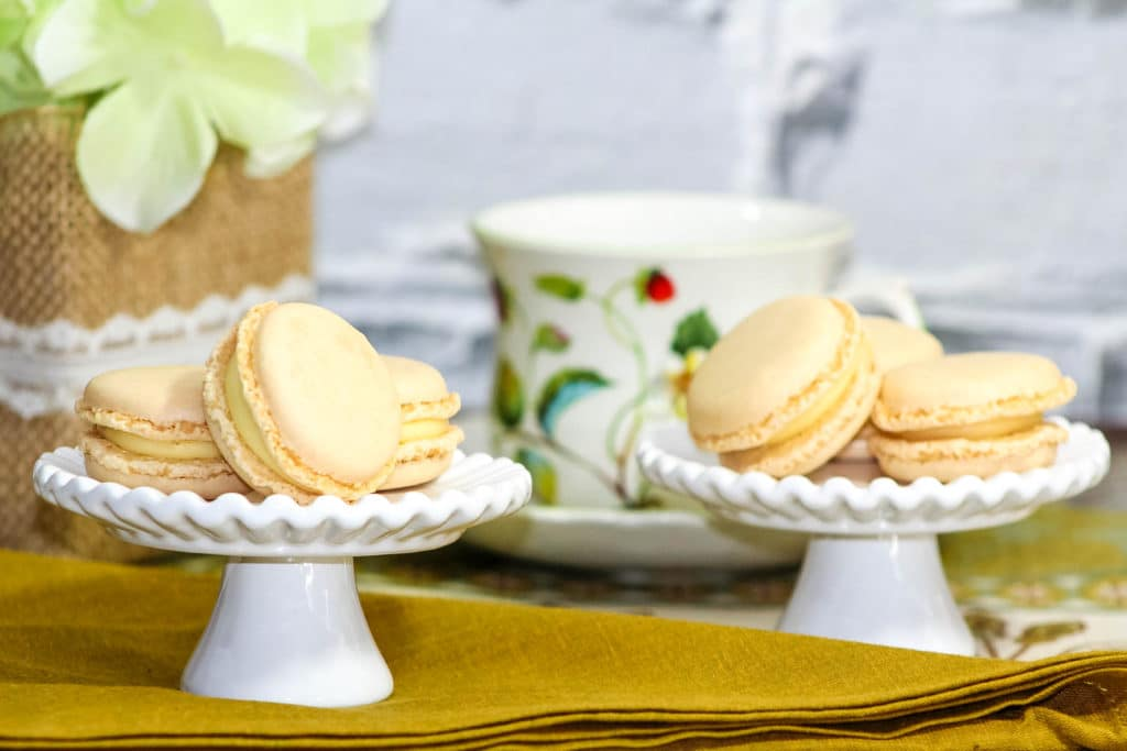 Homemade French Vanilla Macarons Recipe