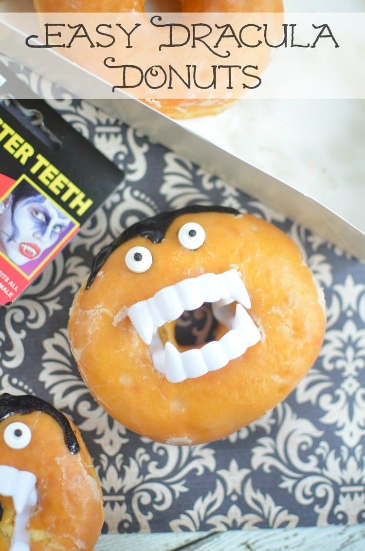 easy dracula donuts