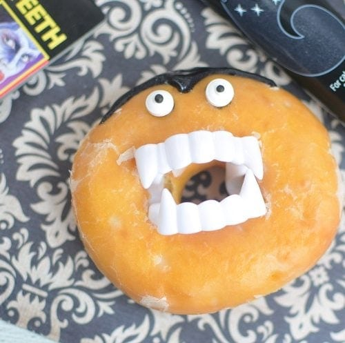 easy vampire donuts