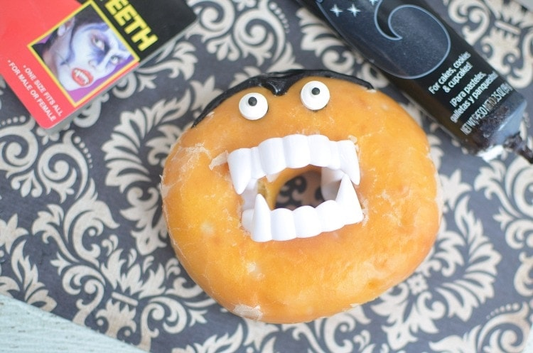 easy vampire donuts for halloween