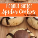 Halloween Peanut Butter Spider Cookies Recipe