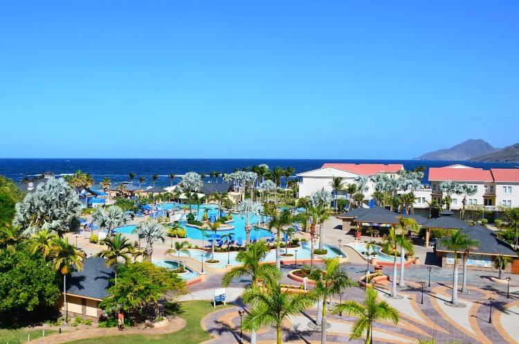 st. kitts marriott view