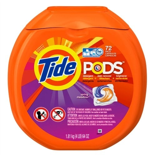 game day tide pods