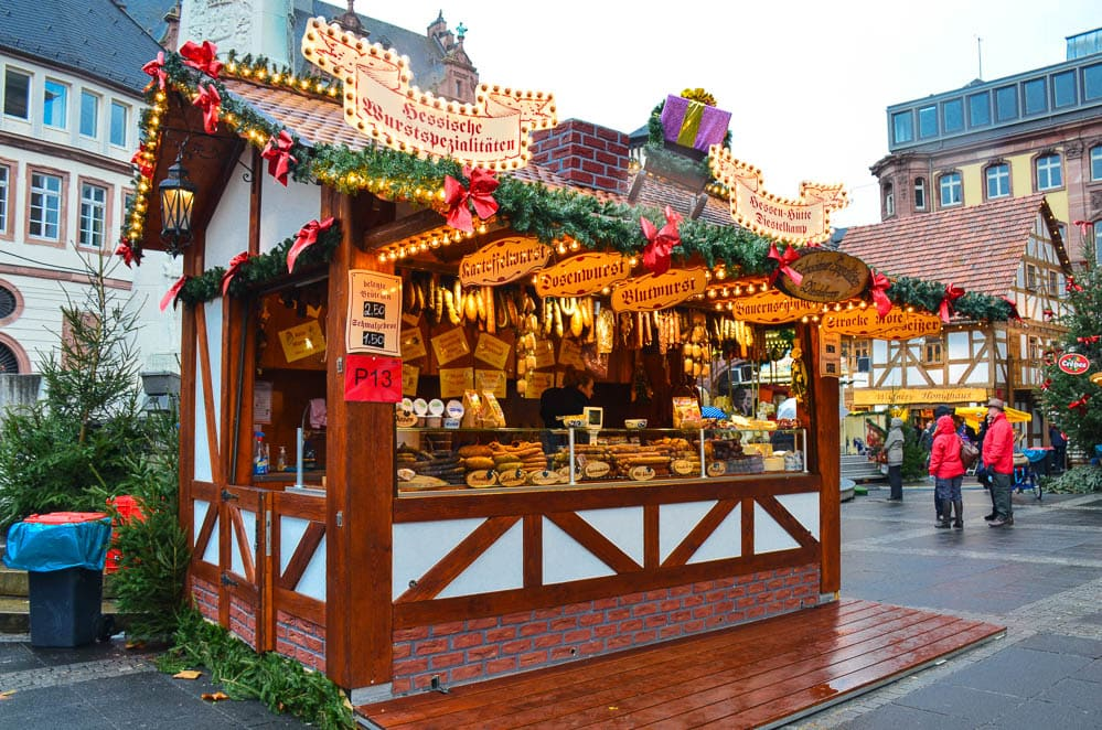 Frankfurt Christmas Market Stall
