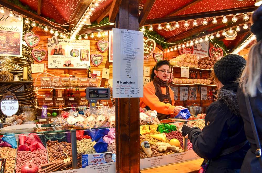 Frankfurt Christmas Market Food