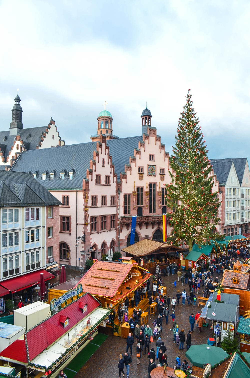 The Frankfurt Christmas Market Germany