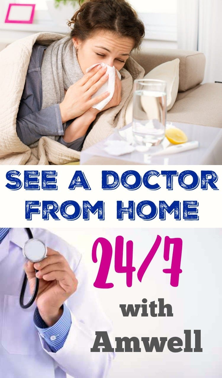 See A Doctor From Home 247 With Amwell