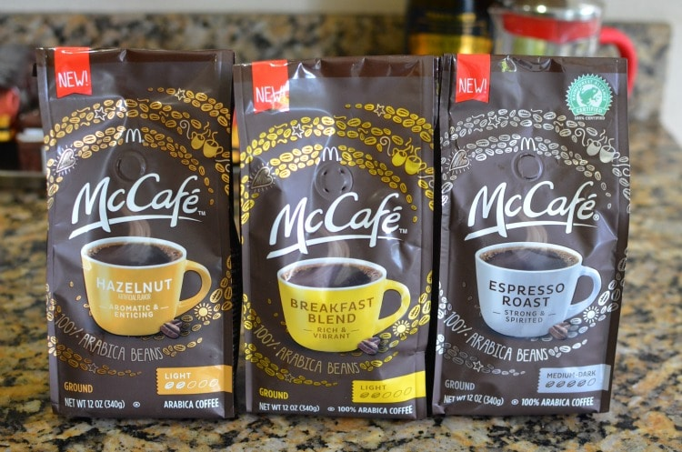 Mccaf 233 Packaged Coffee Get The Coffee You Love Anytime