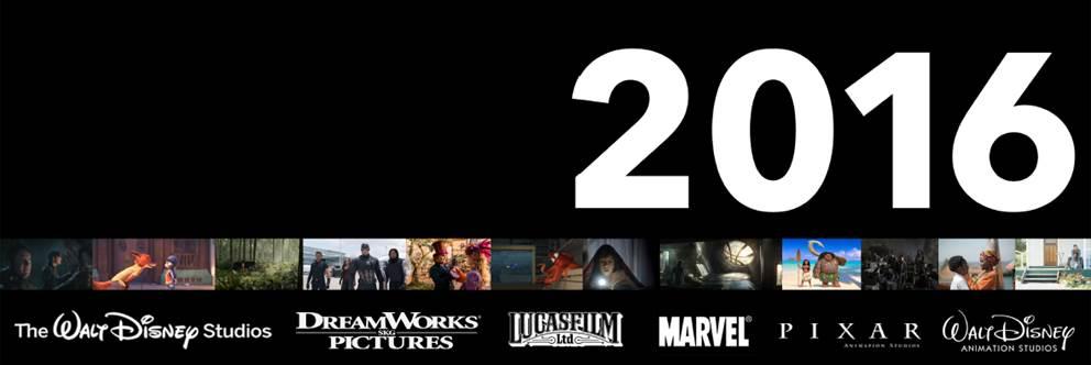 2016 Disney Movie Release schedule