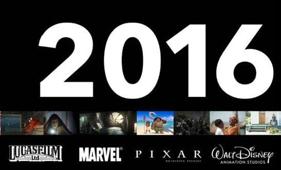 2016 Disney Movie Release Schedule
