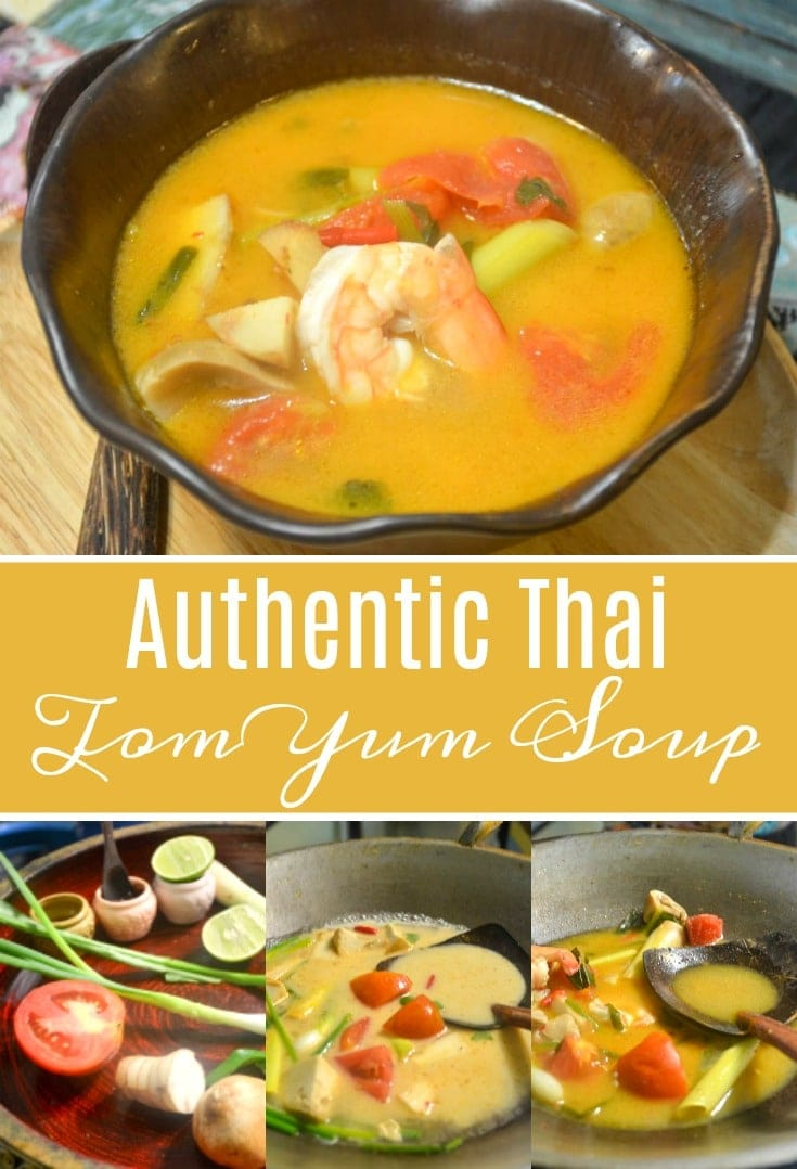 Authentic Thai Tom Yum Soup Recipe Mommy Musings