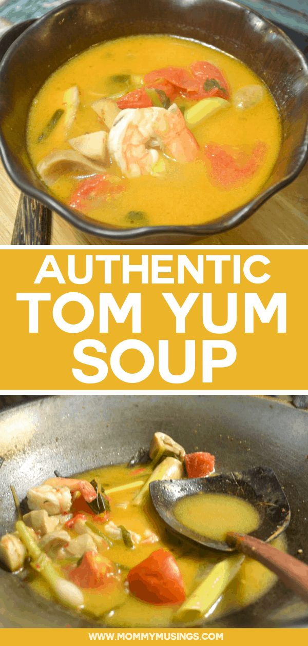 authentic tom yum soup recipe from thailand