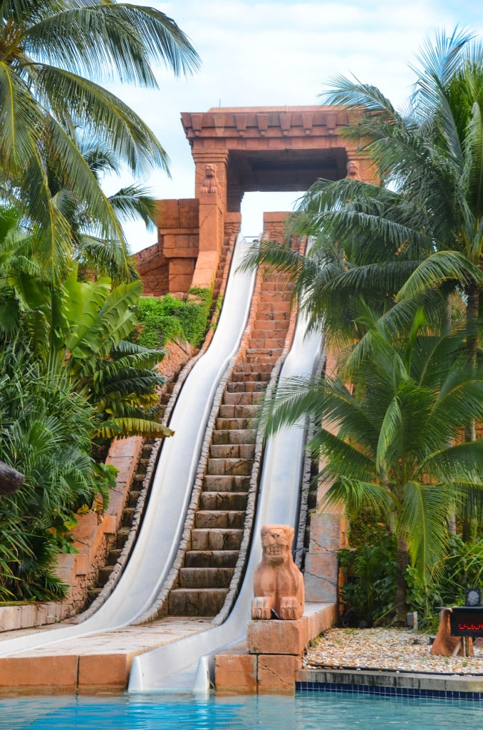 atlantis aquaventure slide