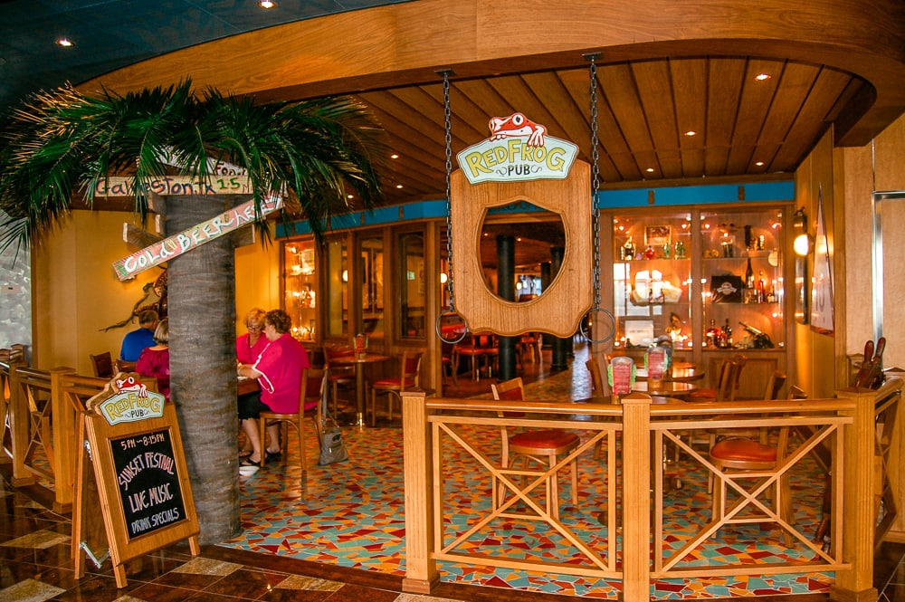 Carnival Magic upgrades redfrog