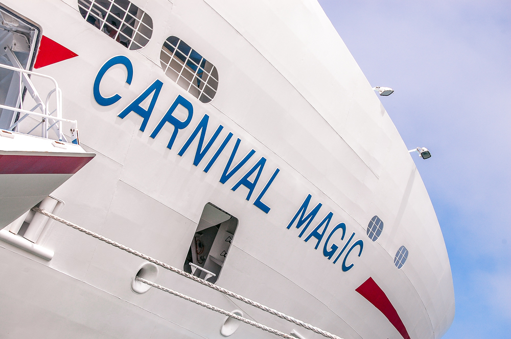Carnival Magic upgrades