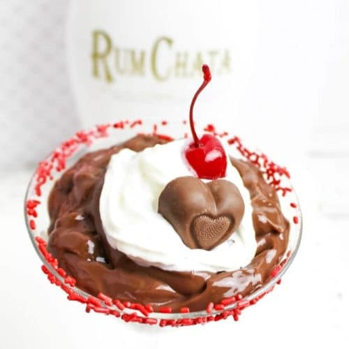 rumchata chocolate pudding parfait recipe