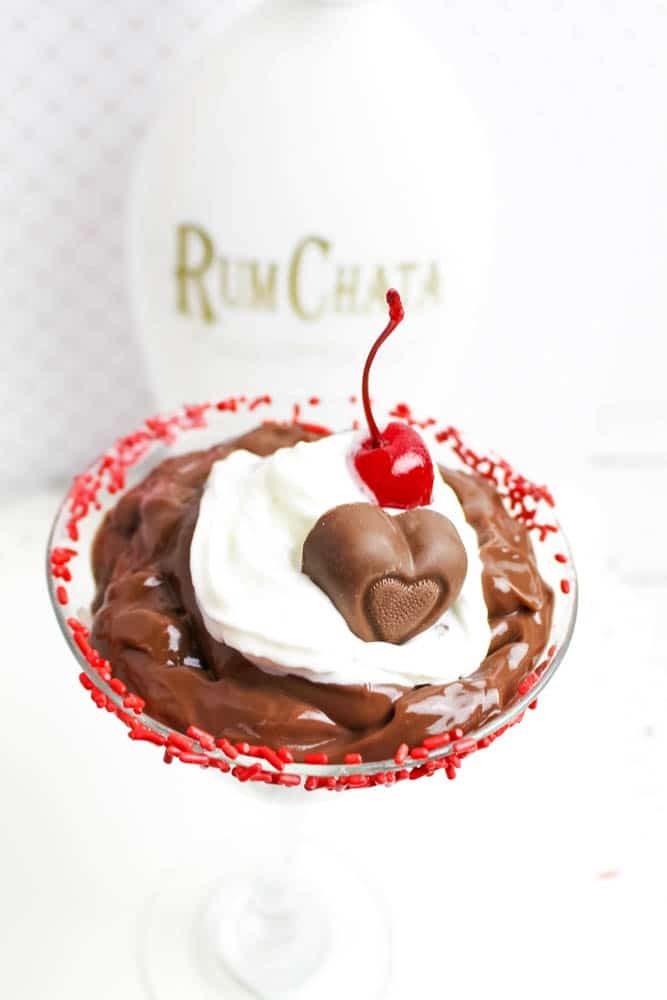 RumChata Chocolate Pudding Parfait