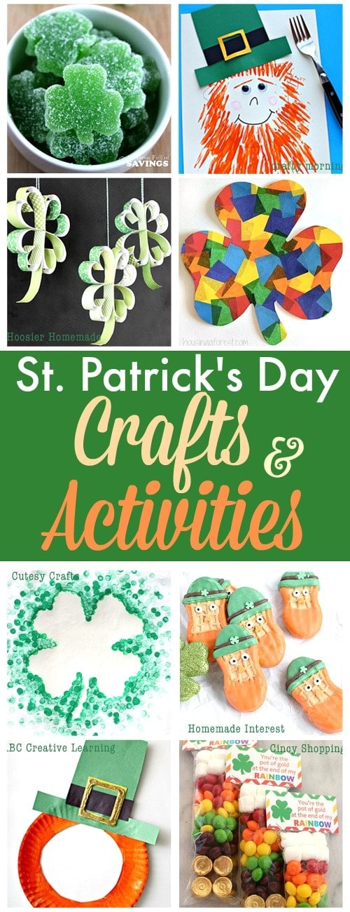 st. Patrick's day crafts & activities