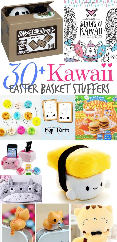 30+ Kawaii Easter Basket Stuffer Ideas
