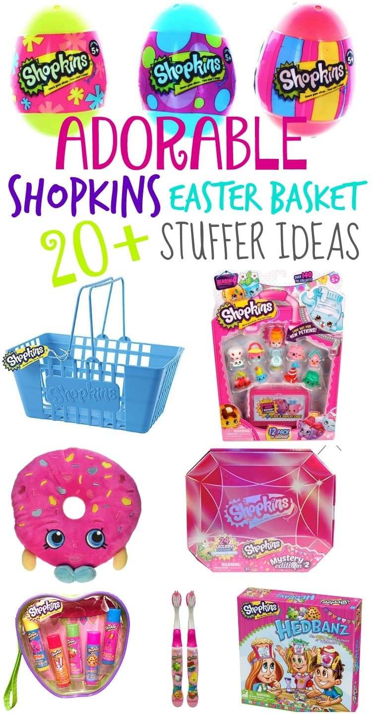 shopkins easter basket stuffer ideas