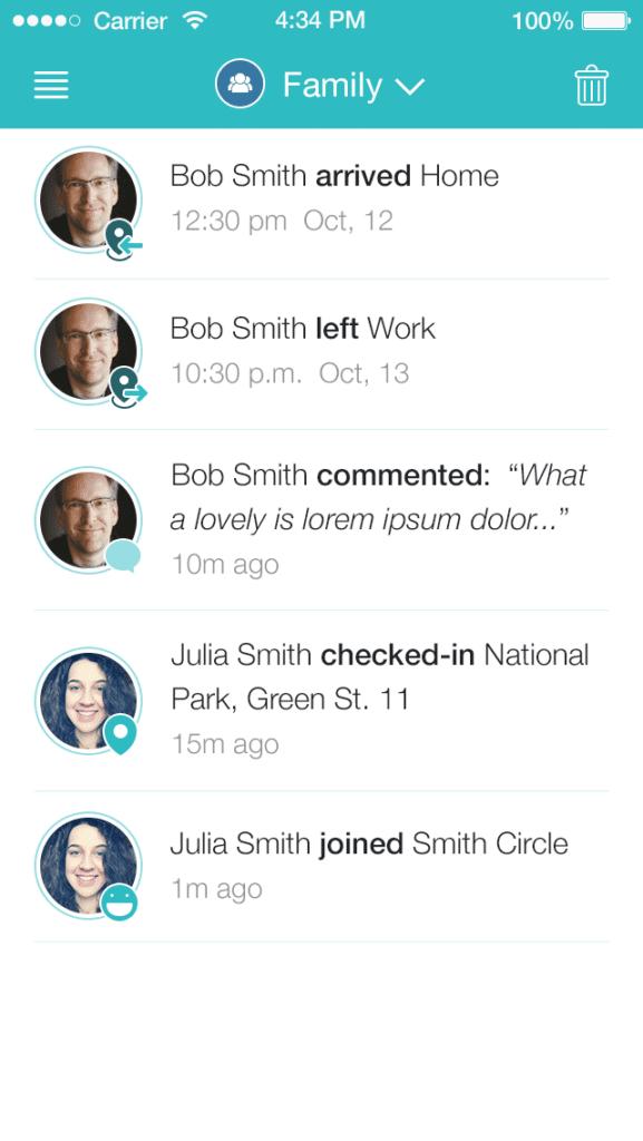 geozilla app notifications