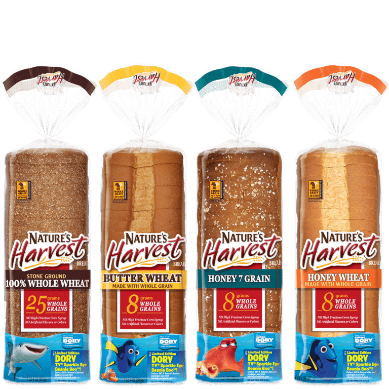 f Nature's Harvest® bread