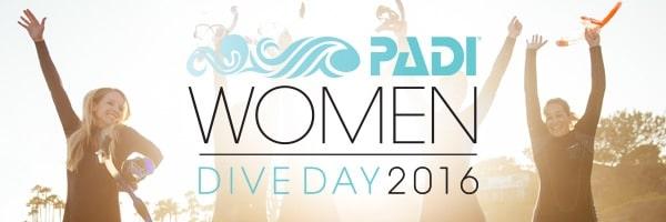 PADI Women's Dive Day 2016