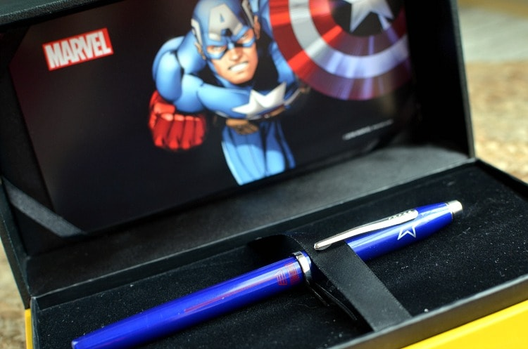 captain america cross pen