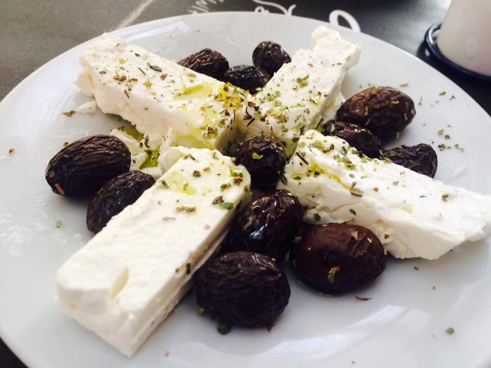 feta olive greece