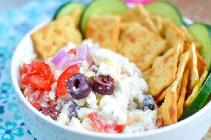 Greek Cottage Cheese Dip Recipe