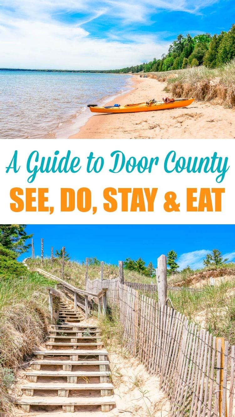 Door County Wisconsin See Do Stay Eat