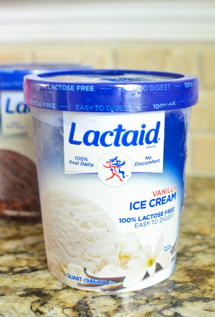 lactaid vanilla ice cream