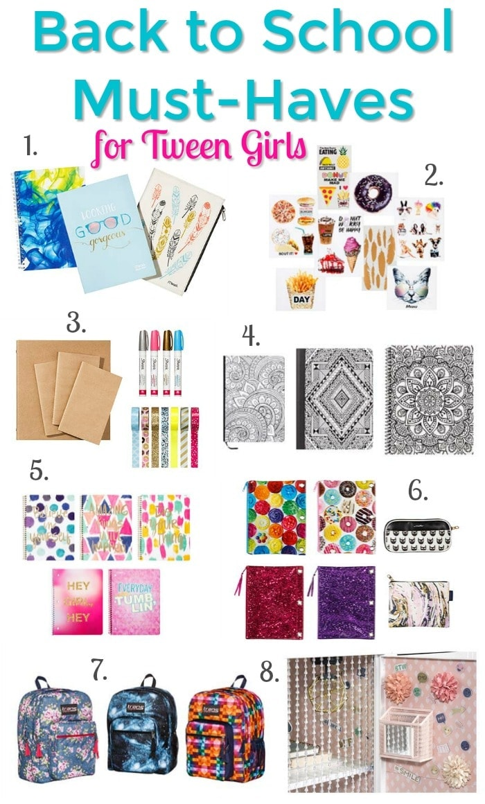 back to school must-haves for tween girls at target