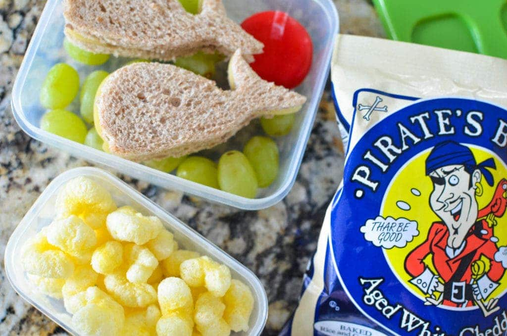back to school lunch ideas pirates booty
