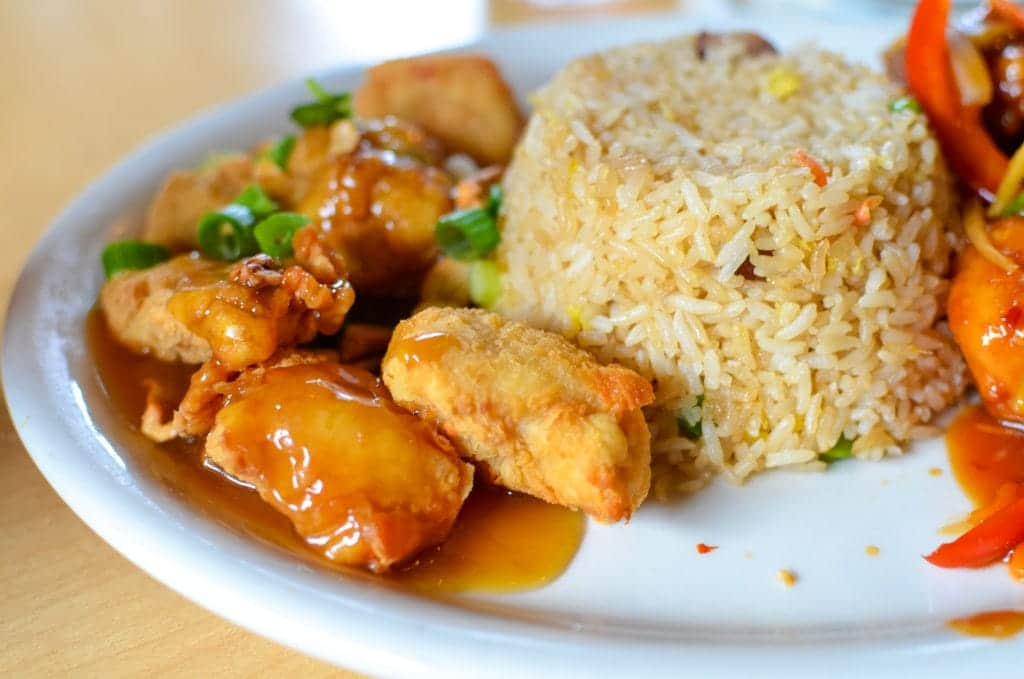 Leong's Asian Diner cashew chicken