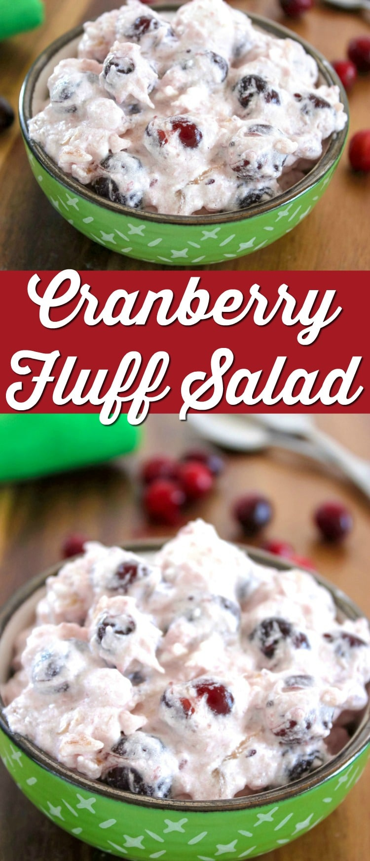 cranberry fluff salad recipe