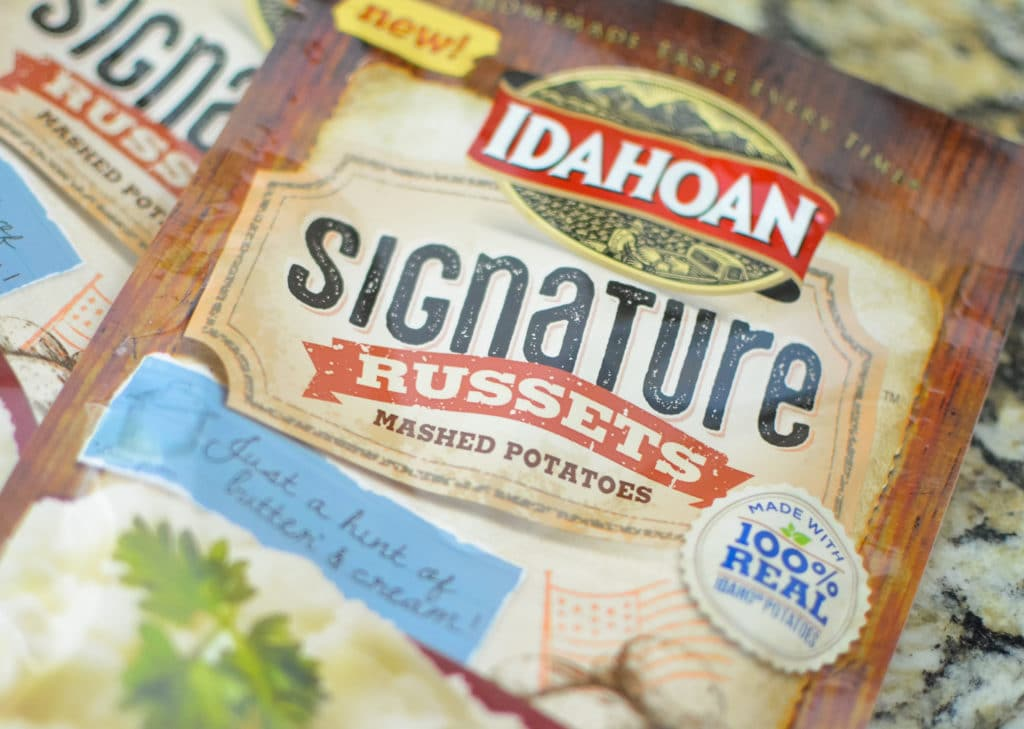 Idahoan Signature Russets Mashed Potatoes