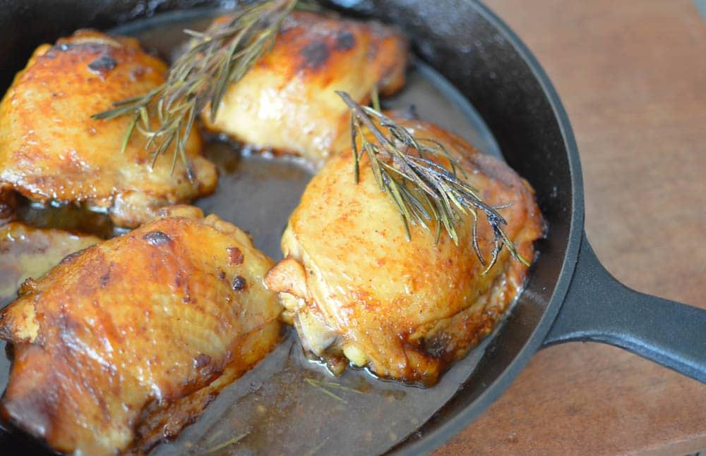 balsamic glazed chicken thigh recipe