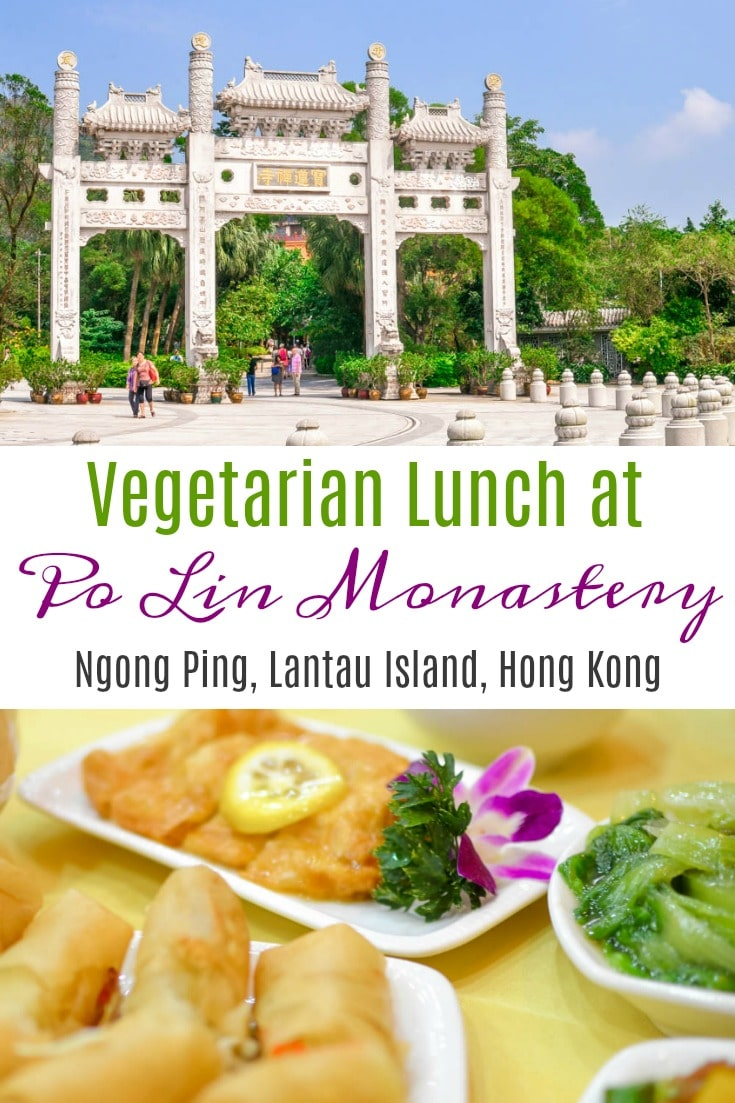 A look at the Deluxe Vegetarian Lunch at Po Lin Monastery in Ngong, Ping, Lantau Island, Hong Kong