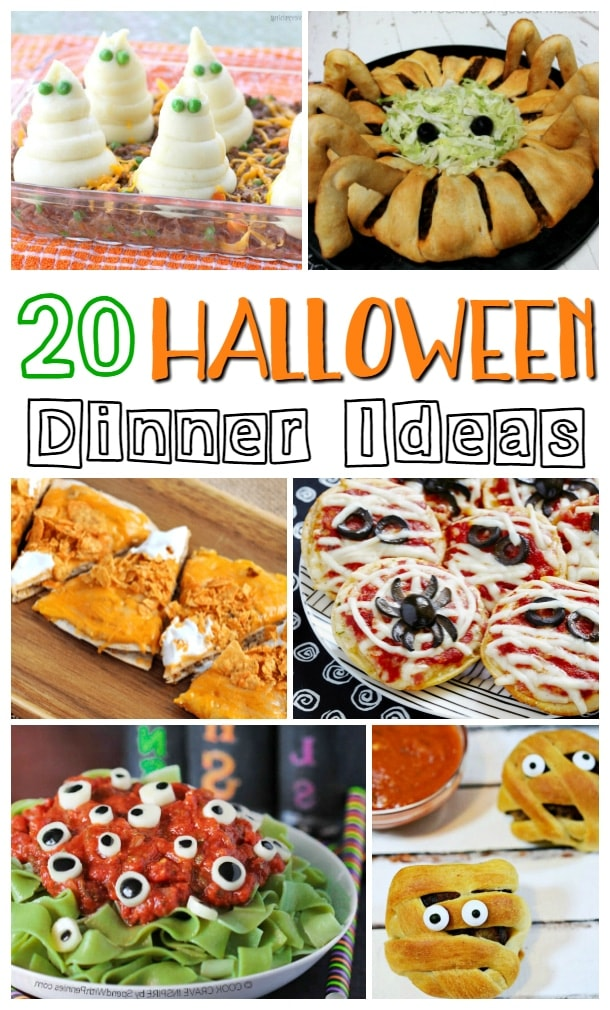 halloween dinner ideas halloween dinner recipes for kids - Halloween Dinner Kids