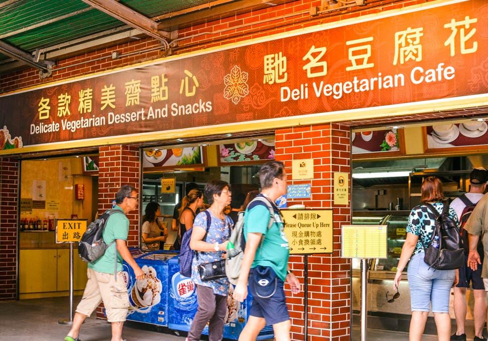 Po Lin Monastery Vegetarian Deli Cafe
